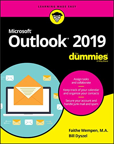 Outlook 2019 For Dummies (Outlook for Dummies) from John Wiley & Sons