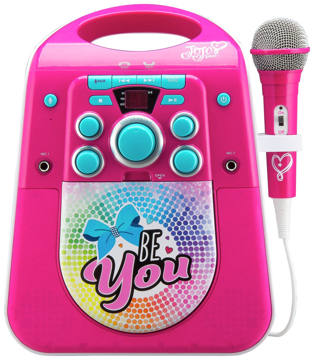 Jojo Siwa Bluetooth CDG Karaoke Machine with Microphone from Jojo Siwa