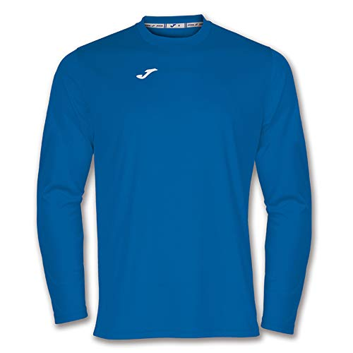 Joma Unisex's 100092.700 Long Sleeve Shirt-Blue/Royal, Medium from Joma