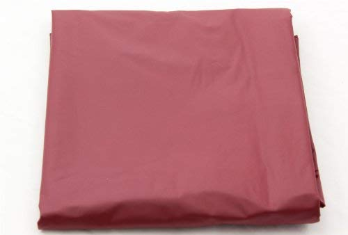 7FT RED NYLON WEIGHTED POOL OR SNOOKER TABLE COVER from Jonny 8 ball