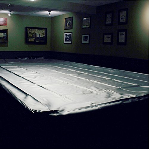 SPARTAN Heavy Duty Water Resistant Snooker Table Cover - 10FT BLACK from jonny 8 ball