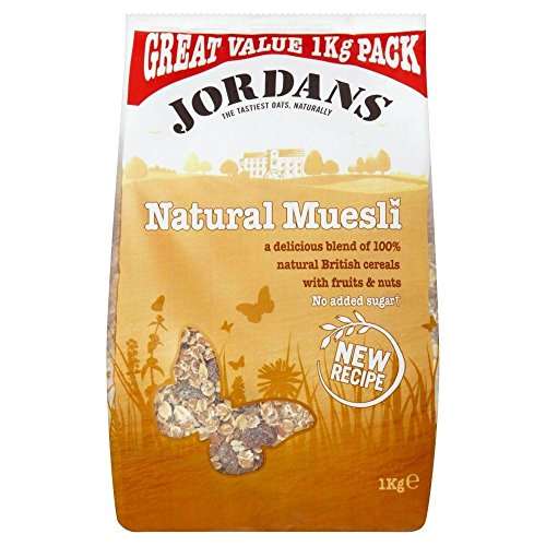 Jordans Natural Muesli (1Kg) - Pack of 6 from Jordans