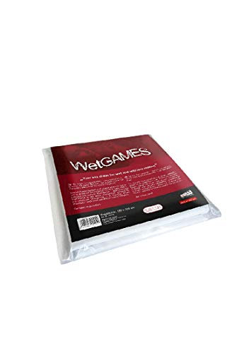 Joydivision Sexmax Wetgames Sex Sheet, 220 x 180 cm Width, White from Joy Division