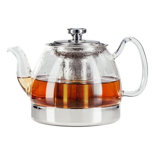 Judge Stove Top Glass Teapot, Transparent, 900 ml from Judge