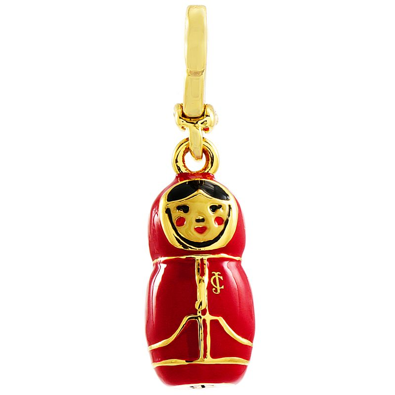 Ladies Juicy Couture PVD Gold plated Matryoska Doll Charm from Juicy Couture Jewellery