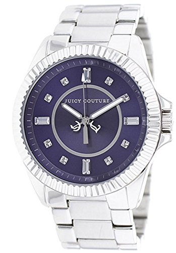 Juicy Couture Women's Stella Silver-Tone Stainless Steel Purple Dial from Juicy Couture
