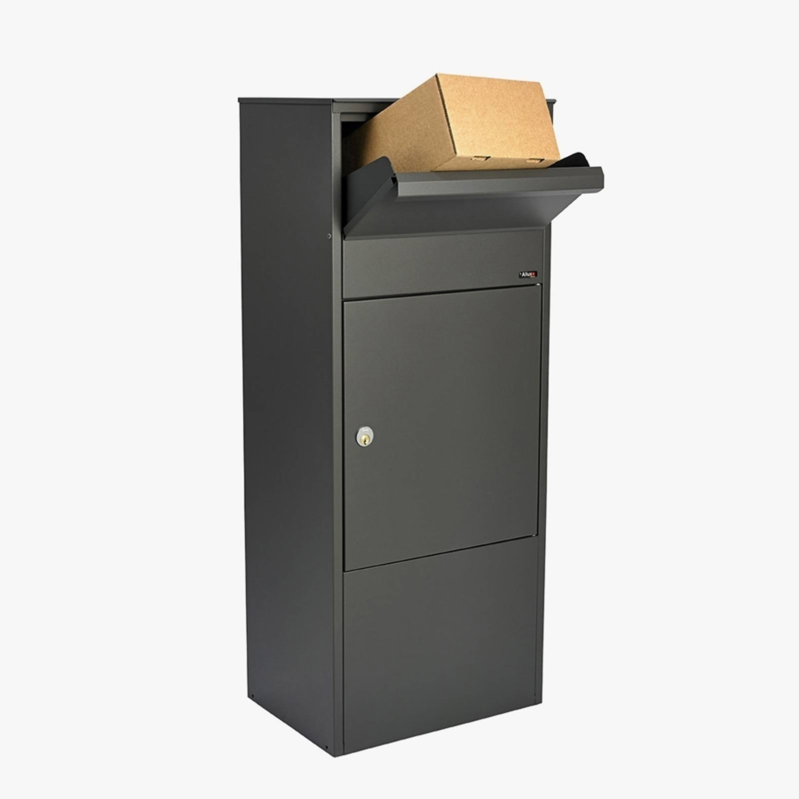Large letter and parcel box 800, anthracite from Juliana