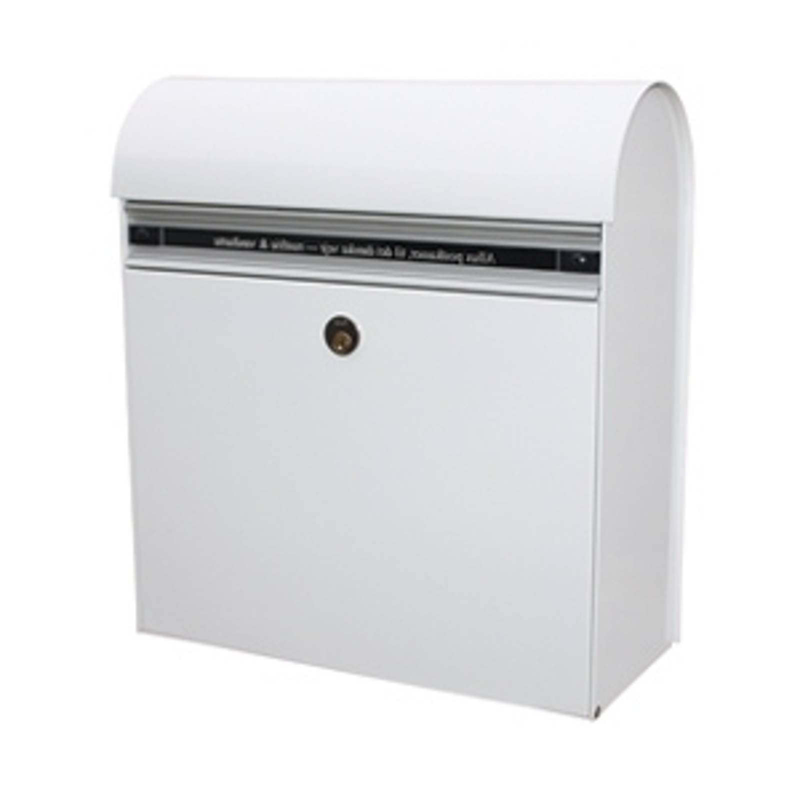 Robust letterbox KS200, white from Juliana