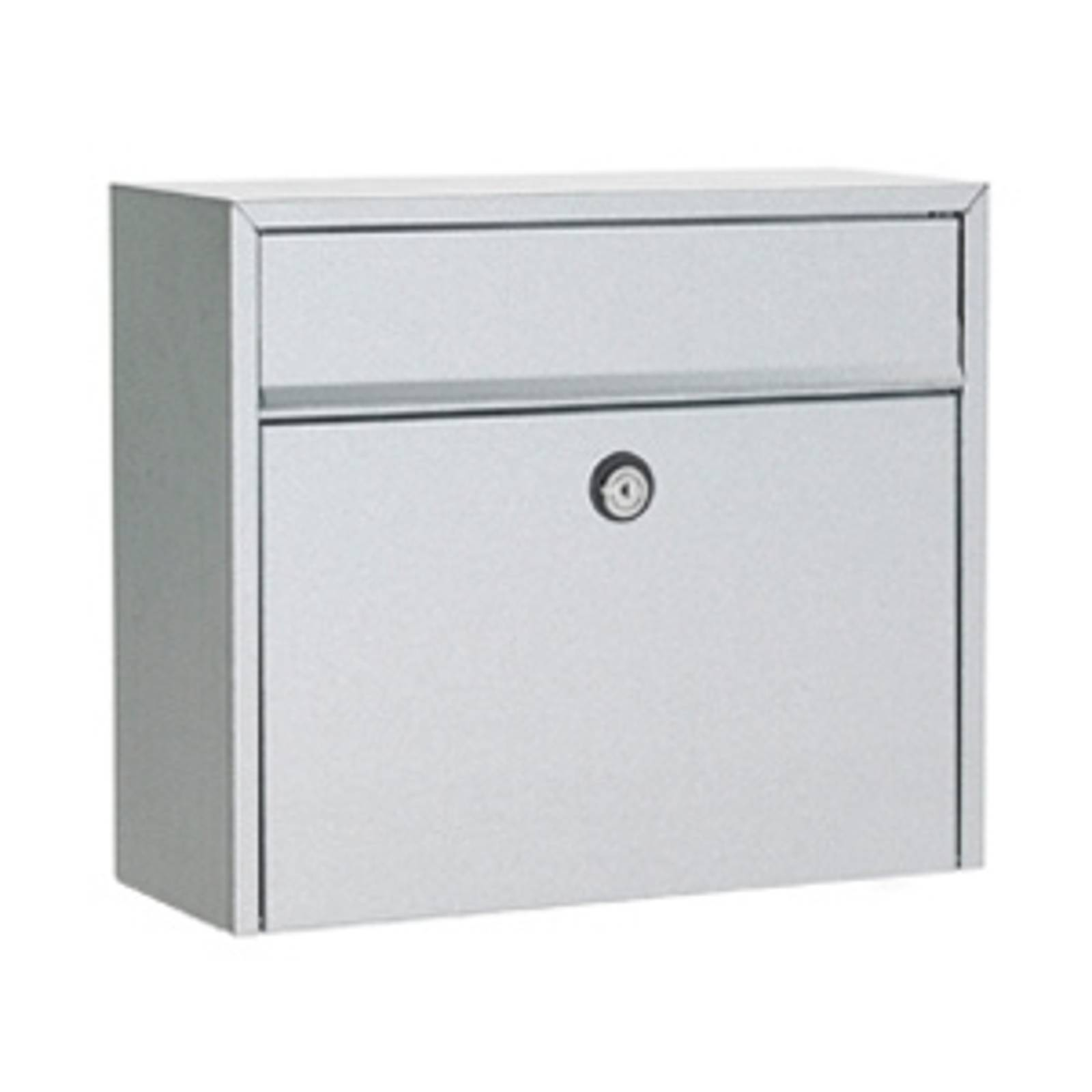 Simple letterbox LT150, steel, Euro lock from Juliana