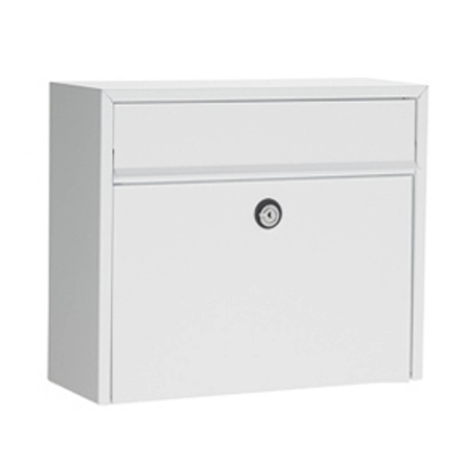 Simple letterbox LT150, white, Euro from Juliana
