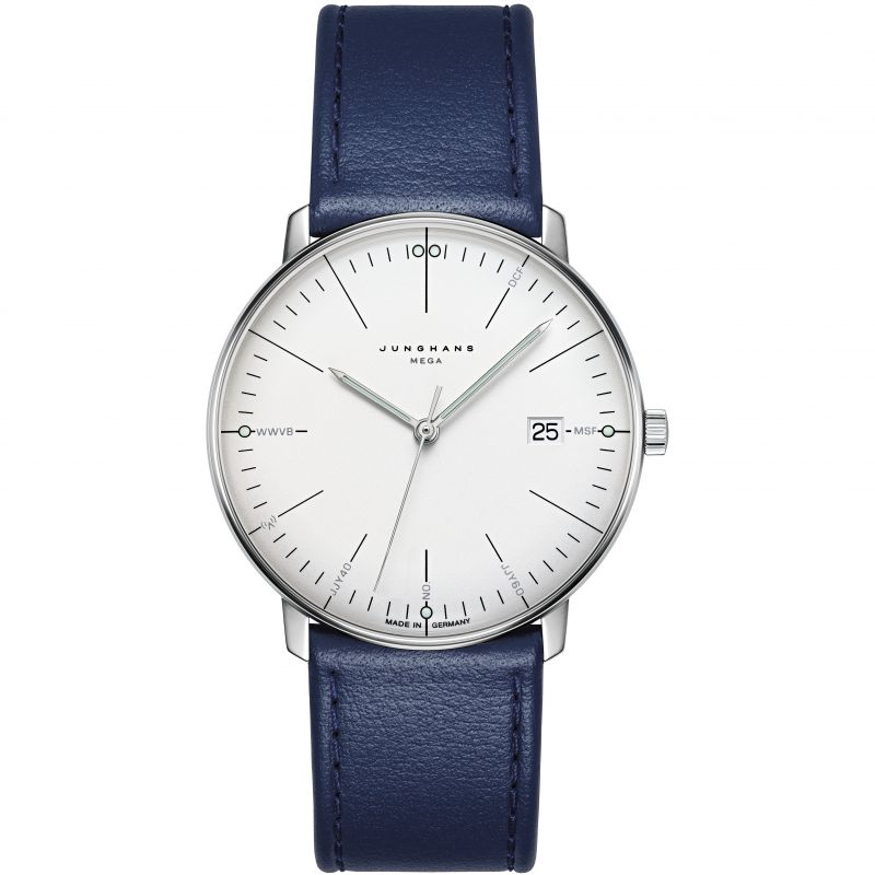 Junghans max bill Mega Radio Controlled Watch 058.4822.00 from Junghans