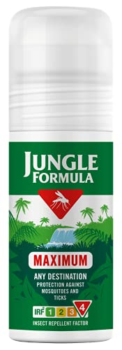 Jungle Formula Maximum Roll On Insect Repellent, 50ml from Jungle Formula