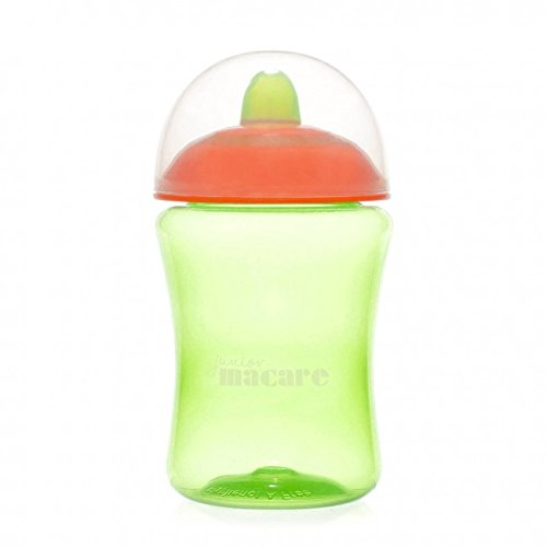 Junior Macare Non-Spill Cup 6 Months+ (Green & Orange) from Junior Macare