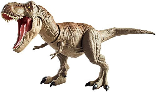 3e15be6f32 Jurassic World GCT91 Bite N Fight Tyrannosaurus Rex inLarger Scale, with  Head and Tail Strike