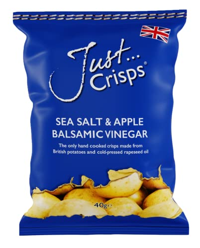Just Crisps Apple Balsamic Vinegar & Sea Salt 24 x 40g from Just Crisps