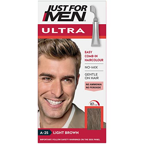 Just For Men Autostop Hair Color Light Brown A25 from Just for Men