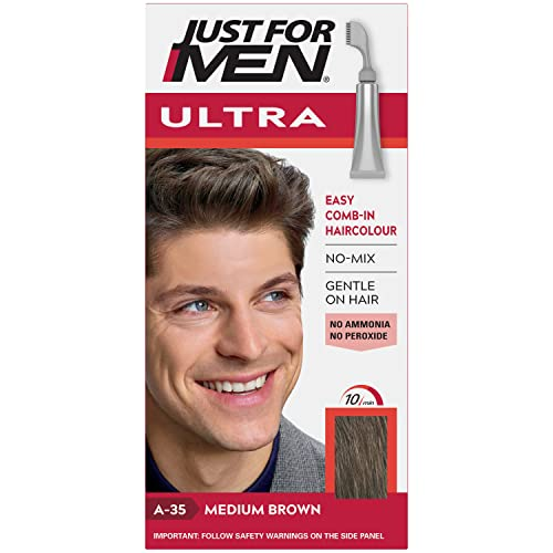 Just For Men Autostop Hair Color Medium Brown A35 from Just for Men