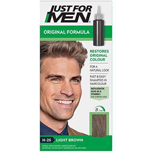 Just For Men Hair Colour Original Formula Light Brown H25 from Just for Men