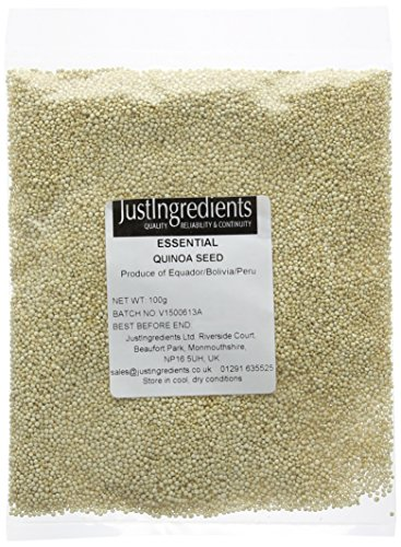 JustIngredients Essential Quinoa Seeds, 100 g - Pack of 5 from JustIngredients