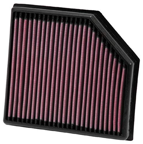 K&N Engine Air Filter: High Performance, Premium, Washable, Panel Replacement Filter: 2002-2014 (XC90, S60, V70 II, XC70 Cross Country), 33-2972 from K&N