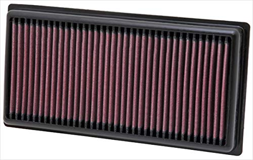 K&N Engine Air Filter: High Performance, Premium, Washable, Panel Replacement Filter: 2010-2019 (Mito, 500, 500L, Panda III, Punto, Punto Evo, Ypsilon), 33-2981 from K&N