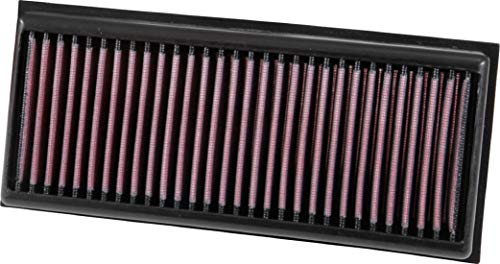 K&N Engine Air Filter: High Performance, Premium, Washable, Panel Replacement Filter: 2014-2019 (C63, GLC63, GLC63 AMG S, G500, G550, G550 4x4, S63 AMG) , 33-3072 from K&N