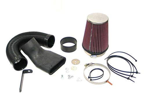 K&N 57-0313 Washable and Reusable Car Performance Intake Kit from K&N