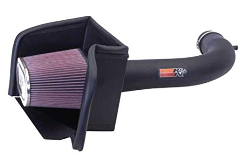 K&N 57-1537 Washable and Reusable Car Performance Intake Kit from K&N