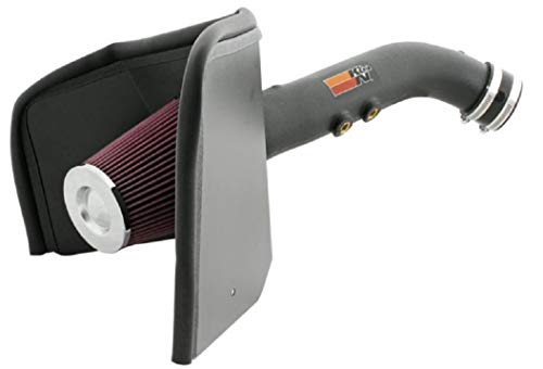 K&N 63-1043 Washable and Reusable Car Performance Intake Kit from K&N