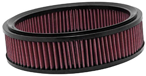 K and N E-1991 Washable and Reusable Car Replacement Air Filter from K&N