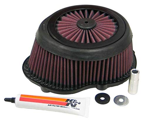 K and N KA-2504 Motorcycle Replacement Air Filter from K&N