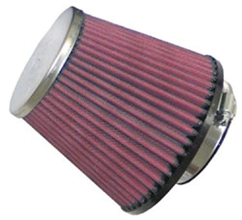 K&N  Universal Clamp-On Filter: High Performance, Premium, Washable, Replacement Engine Filter: Flange Diameter: 2.5 In, Filter Height: 4.5625 In, Flange Length: 0.75 In, Shape: Round Tapered, RC-9490 from K&N