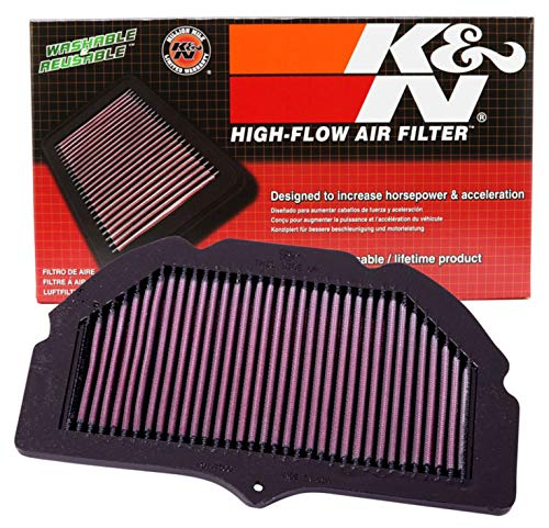K&N Filters SU-7500 Motorcycle Replacement Air Filter from K&N