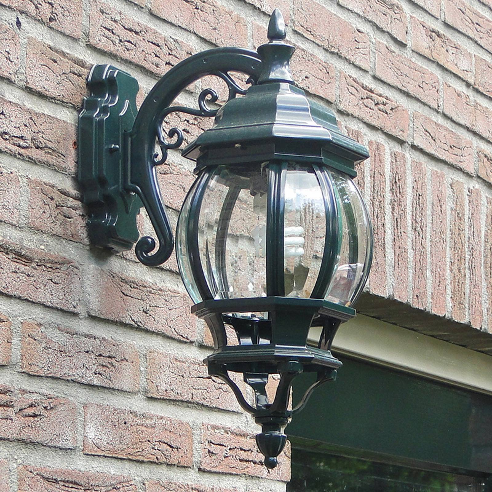 Outdoor wall light Andrew hanging lantern green from K. S. Verlichting