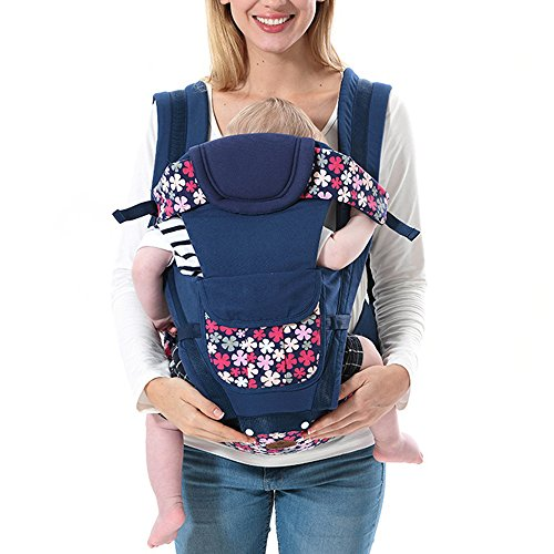KINDOYO 3D Carriers Backpack Seat Best for Newborn or Child, Deep Blue from KINDOYO