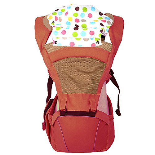 KINDOYO Newborn Baby Infant Backpack Sling Front Back Baby Comfortable Carrier, Deep Red from KINDOYO