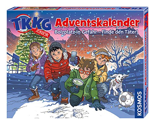 KOSMOS Advent Calendar 630539 Tkkg Junior Advent Calendar 2018 from KOSMOS Adventskalender
