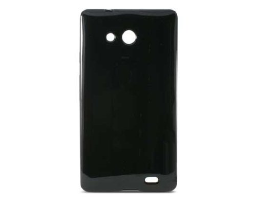 KSIX Flex TPU Cover for Huawei Ascend Mate - Black from KSIX