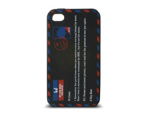 KSIX Freestyle Silicone Case Envelope for iPhone 4/4S - Black from KSIX