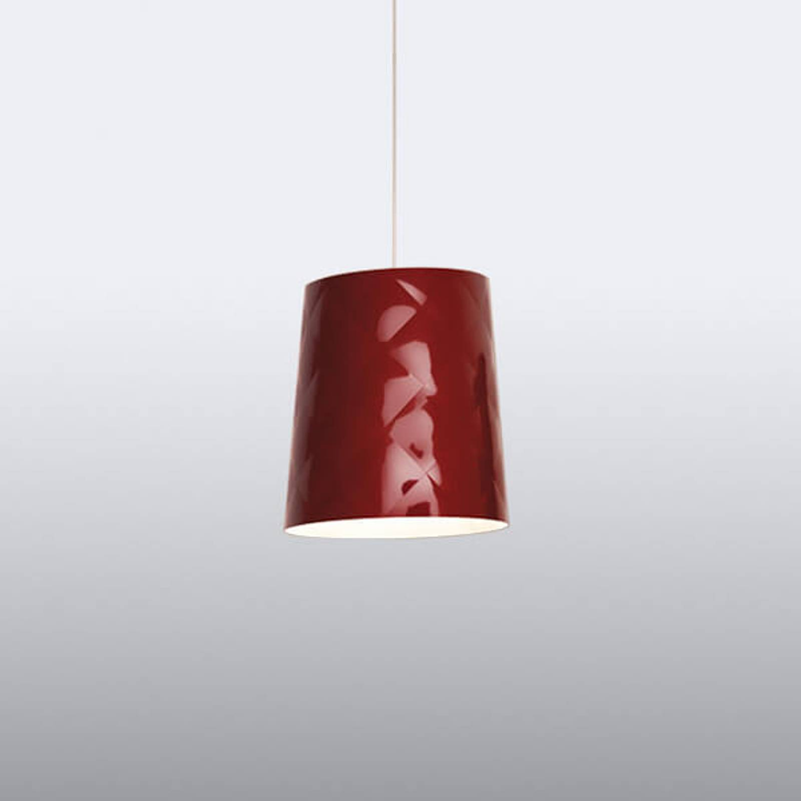 New York 33 red designer pendant light from Kundalini