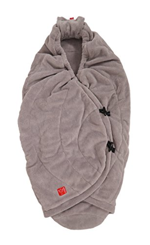 Kaiser Cooco Wrapping Blanket For Carrycots and Car Seats (Light Grey, 6539723) from Kaiser