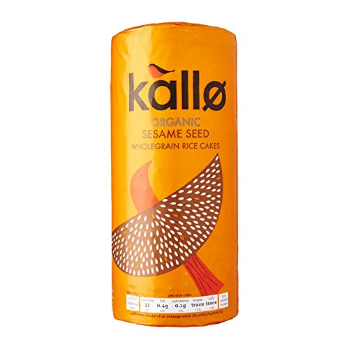 (3 PACK) - Kallo - Org FT Sesame Rice Cakes | 130g | 3 PACK BUNDLE from Kallo