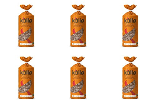 (6 PACK) - Kallo Sesame - Organic & Fairtrade| 130 g |6 PACK - SUPER SAVER - SAVE MONEY from Kallo