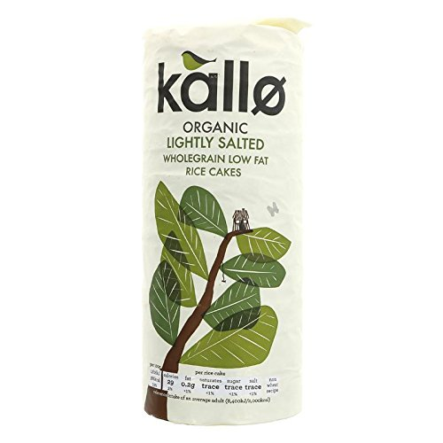 (8 PACK) - Kallo Organic Lightly Salted Rice Cakes| 130 g |8 PACK - SUPER SAVER - SAVE MONEY from Kallo