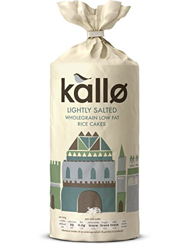 Kallo Low Fat Thick Slice Rice Cake, 130 g from Kallo