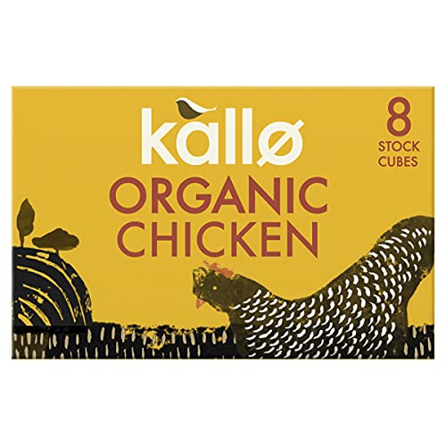 Kallo Organic Chicken 8 Stock Cubes (Pack of 12) from Kallo