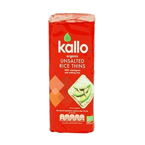 Kallo | Thin Slice No Salt - organic | 3 x 130g from Kallo