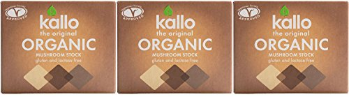 Mushroom Stock Cubes (66g) x 3 Pack Saver Deal from Kallo