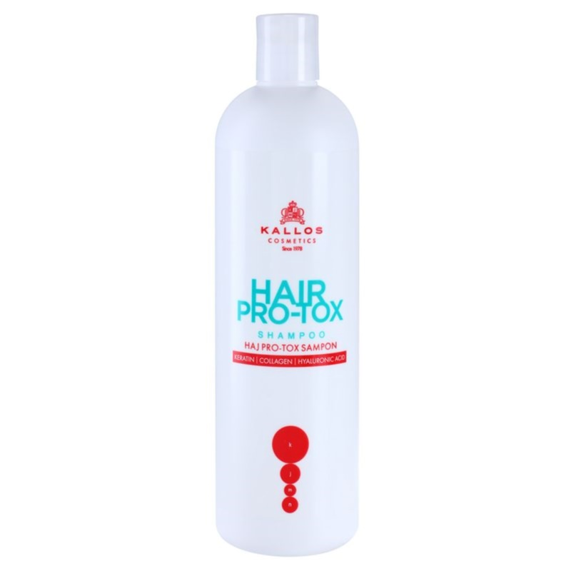 Kallos KJMN Shampoo With Keratin for Dry and Damaged Hair 500 ml from Kallos