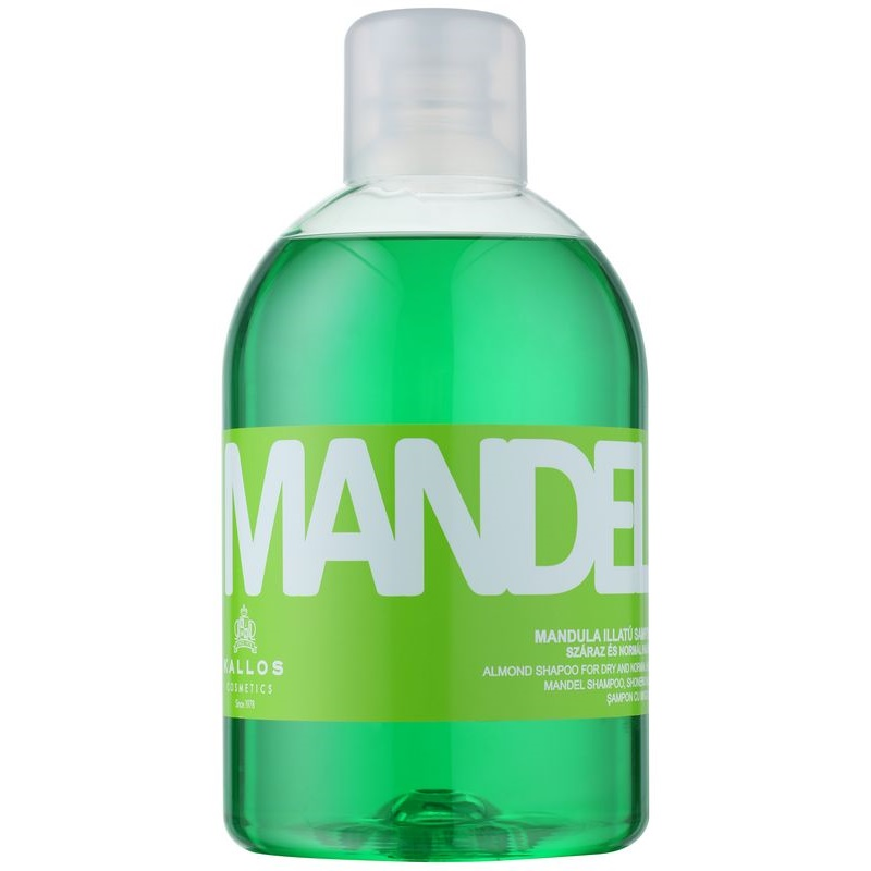 Kallos Mandel Shampoo For Dry And Normal Hair 1000 ml from Kallos